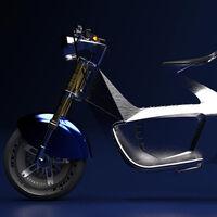 Más origami y menos costes: así pretende el scooter eléctrico Stilride revolucionar la fabricación de motos