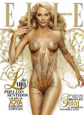 Belén Rueda se desnuda para Elle
