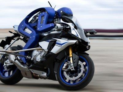 Yamaha está desarrollando un espectacular robot capaz de conducir motos de alta cilindrada
