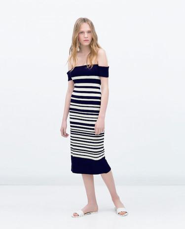 8 vestidos de rayas para no rayarte demasiado