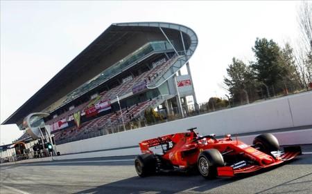 Leclerc Montmelo F1 2020