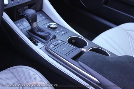 Lexus RC F - prueba, toma de contacto, interior