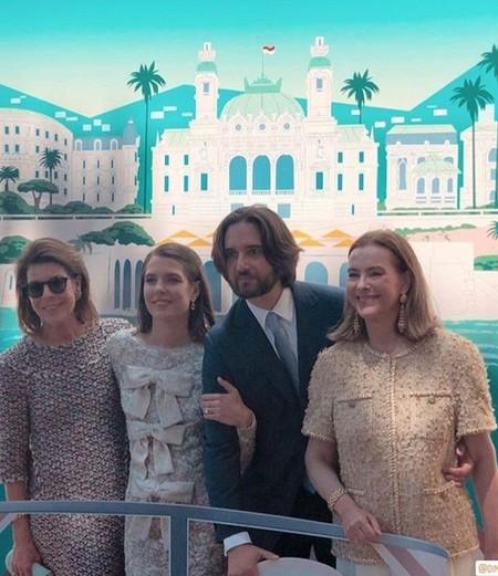 Los looks de las invitadas a la boda de Carlota Casiraghi y Dimitri Rassam