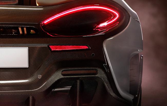 El McLaren 570S más radical o 'Longtail' enseña la patita en este primer teaser