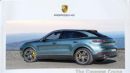 ¡Filtrado! El Porsche Cayenne Coupé está listo para hacerle compañía al BMW X6
