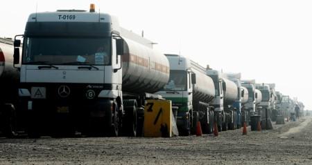 Oil Tank Truck Iraq