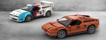 Un fan desarrolló una alucinante réplica del BMW M1 y quiere que Lego lo fabrique