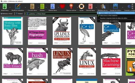 Así puedes crear y gestionar varias bibliotecas de e-books en Calibre