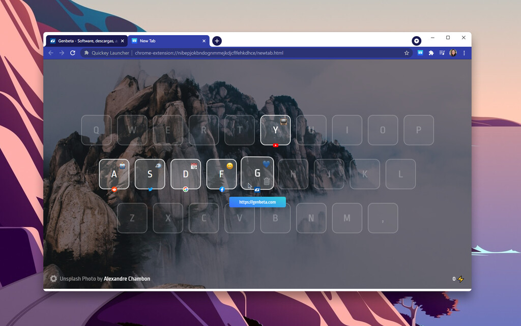Más rápido que los marcadores: esta extensión para Chrome te deja lanzar cualquier web con atajos de teclado