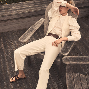 Massimo Dutti nos introduce en la época veraniega con un derroche de sencillez y elegancia extrema