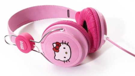 Auriculares de Coloud inspirados en Hello Kitty