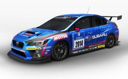 Subaru participará en las 24 Horas de Nürburgring con el nuevo WRX STI
