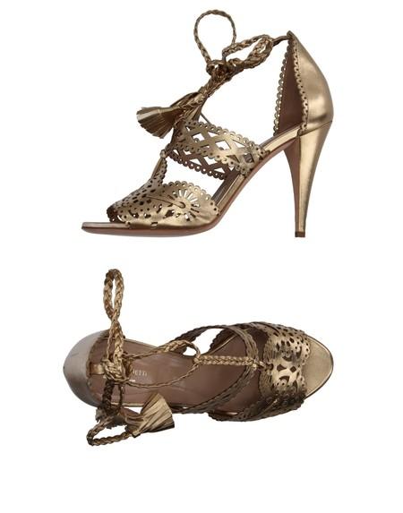 Sandalias Troqueladas