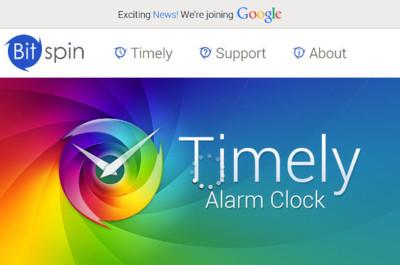Google ha comprado Bitspin, los creadores de Timely
