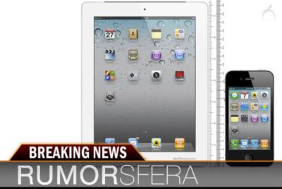 Rumorsfera: más rumores sobre iPhone 5, iPad mini y las posibles fechas de lanzamiento