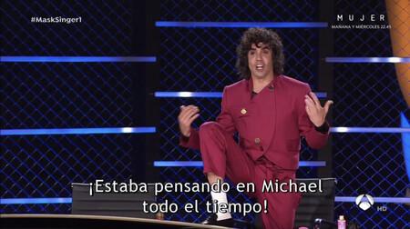 Javier Ambrossi disfrazado de Michael Jackson sin saber que era La Toya