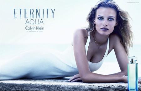 Calvin Klein presenta Eternity Aqua for Women