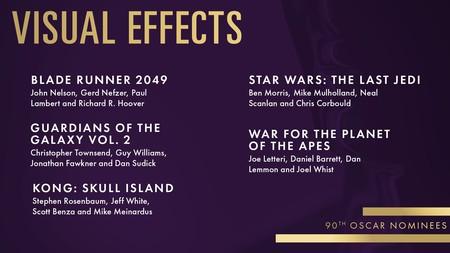 Oscars2018 Vfx Nominees