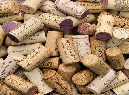 Corchos de vino