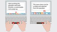 Synaptics quiere revolucionar la barra espaciadora, pondrá en ella una superficie táctil