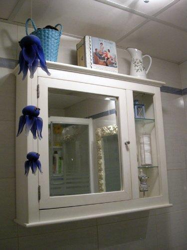 Armario del baño de Lorena.