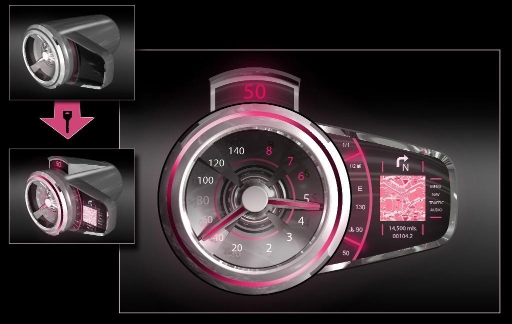 Foto de Futuristas prototipos de interiores de General Motors (2/7)