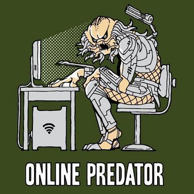 Camiseta Online Predator