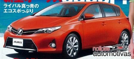 Toyota Auris 2013: el catálogo japonés ha sido filtrado