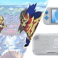 Nintendo Switch Lite tendrá una edición especial inspirada en Pokémon Espada y Escudo con serigrafías exclusivas