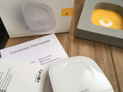 Climatización del hogar a distancia: probamos el termostato conectado Somfy