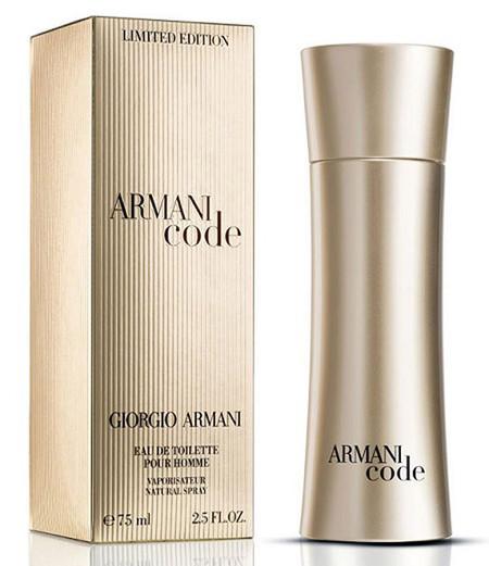 Armani Code Golden Edition, la reinterpretación de una fragancia mítica en edición limitada