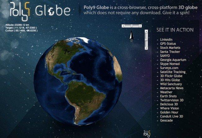 Poly9 Globe