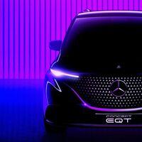 La Mercedes-Benz EQT es la furgoneta eléctrica que adelanta la nueva Clase T, y esta es su primera imagen
