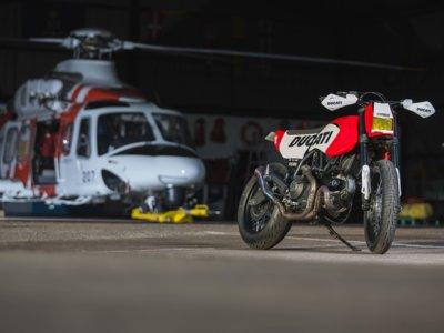 Russell Motorcycles nos explica todos los detalles de su rompedora Scrambler del WDW
