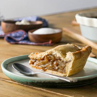 Tarta de manzana estilo americano, receta de la popular y exquisita american pie (con vídeo incluido)