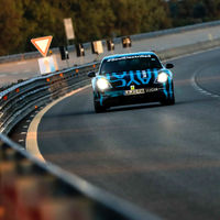"""El Porsche Taycan ha preguntado """"¿Qué es la ansiedad de rango?"""" Recorrió 3,424 km en 24 horas"""
