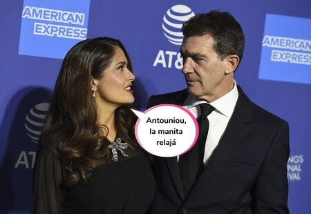 Salma Hayek confiesa su traumática experiencia al grabar una escena de sexo con Antonio Banderas (y por la que acabó llorando)