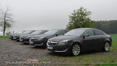 Opel Insignia 2014, presentación y prueba en Frankfurt