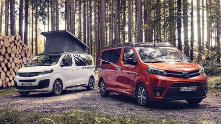 Hymer convierte las Toyota Proace Verso y Opel Zafira Life en la furgoneta camper definitiva, con siete plazas y vistas panorámicas
