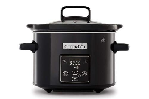 Ideal para parejas, la olla de cocción lenta Crock-Pot CSC061X, de 2,4 litros de capacidad está rebajada en Amazon a 34,90 euros