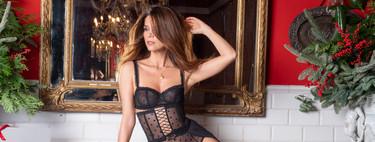 Juana Acosta posa así de sexy para despedir el año con la lencería de Intimissimi