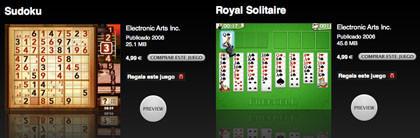 Apple lanza 2 nuevos juegos para el iPod 5G
