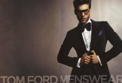 Jon Kortajarena repite para Tom Ford Menswear