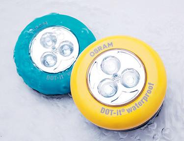 Dot-it waterproof, luz a prueba de agua