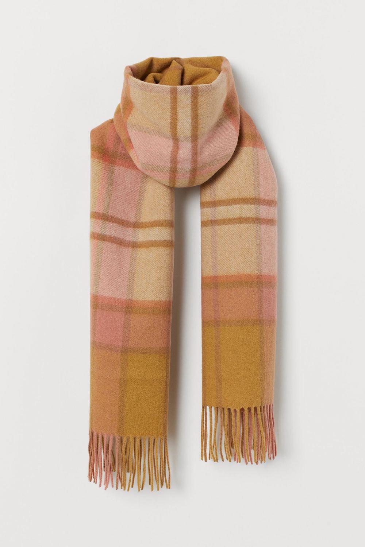 Bufanda de cuadros en lana