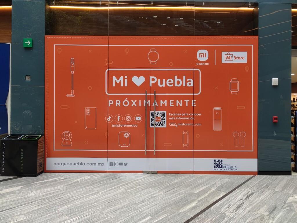 Una nueva Mi Store de Xiaomi en México: Puebla parece ser el destino de la siguiente tienda oficial de la empresa