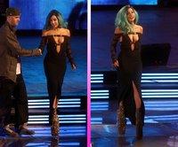 Lady Gaga en los Much Music Video Awards: ¡Qué se te va a salir una teta, mujer!