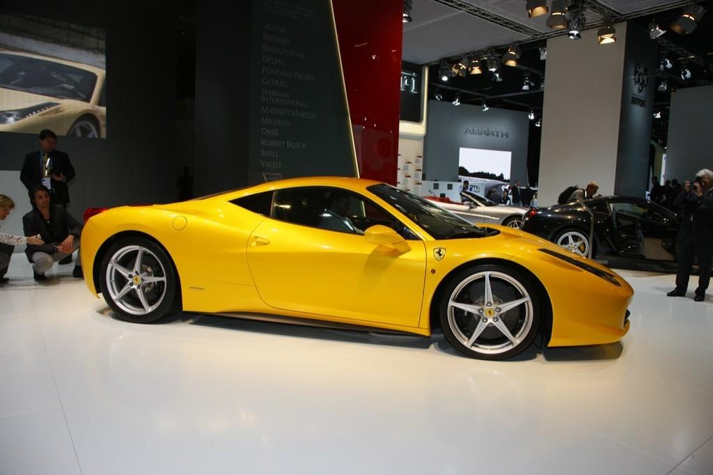 Foto de Ferrari 458 Italia en el Salón de Fráncfort 2009 (5/5)