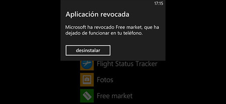 La Tienda Windows bloquea a posteriori la app Free Market