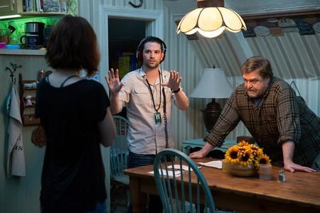 Dan Trachtenberg dando instrucciones en el rodaje de Calle Cloverfield 10